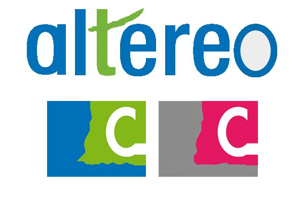 Altereo G2C ingénierie G2C informatique logos