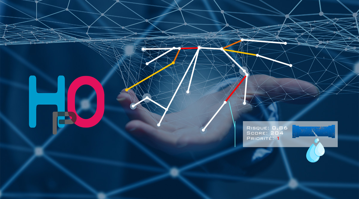 HpO intelligence artificielle pour l'optimisation du renouvellement des réseaux d'eau potable
