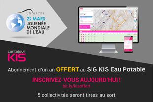 Gagnez un abonnement d'un an au SIG KIS Eau Potable
