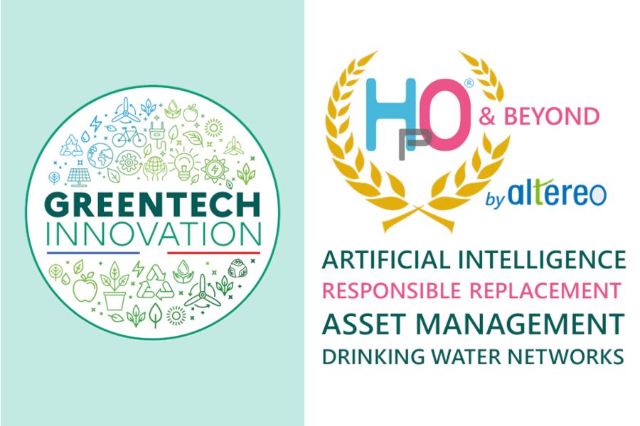 Altereo labellisée GreenTech innovation