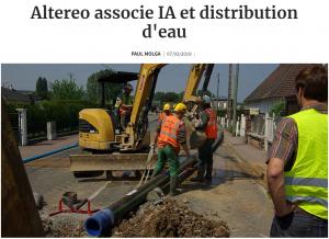 Article LesEchos- Article-IA-eau-potable