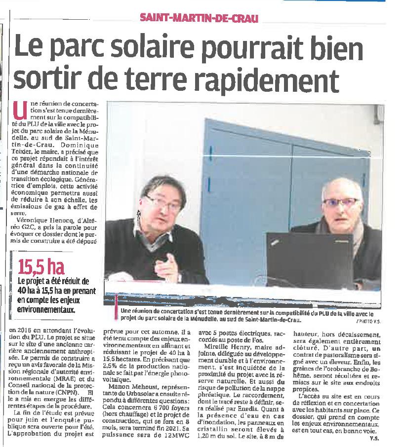 Presse Saint Martin de Crau