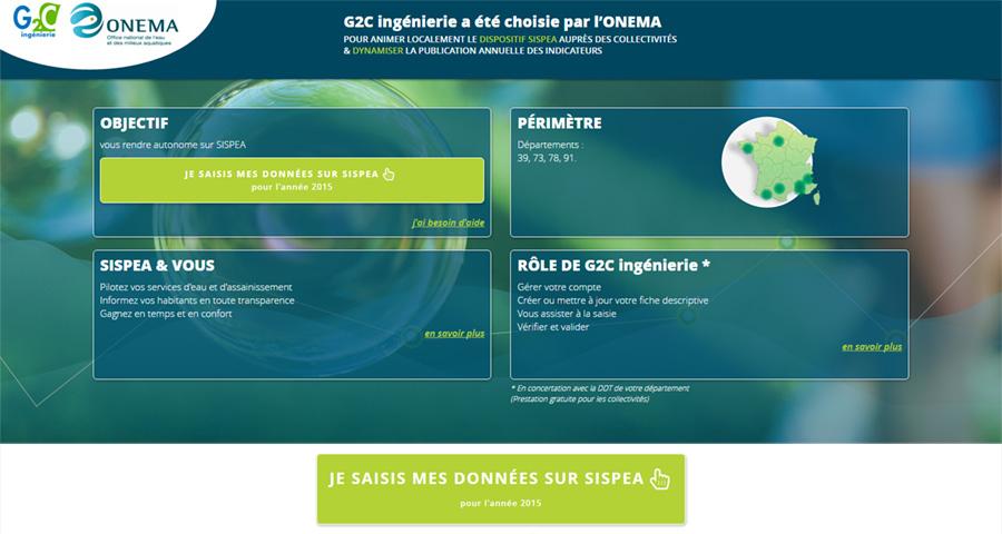 Altereo G2C communication conception design création site Internet
