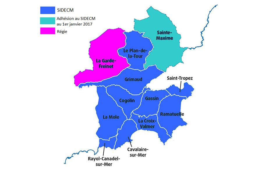 (Français) Syndicat Intercommunal de Distribution d'Eau de la Corniche des Maures
